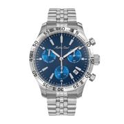 Mathey-Tissot Gent's Limited Edition Type 22 Chronograph with Stainless Steel Bracelet
