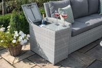 Maze Rattan Ascot Ice Bucket Side Table