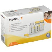 Medela Breast Milk Storage Bottles - 3 x 150ml Bottles