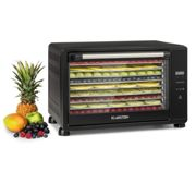 Mega Jerky, Food Dehydrator, 650W, 50-80 ° C, LC Touch Display, Timer