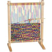 Melissa & Doug Multi-Craft Weaving Loom - Wooden - Crafts - Kids Ages 6 Years +