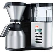 Melitta Aroma Elegance Therm DeLuxe Drip coffee maker Black, Silver