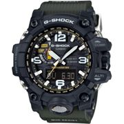 Mens Casio G-Shock Premium Mudmaster Compass Alarm Chronograph Radio Controlled Watch