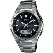 Mens Casio Waveceptor Titanium Alarm Chronograph Radio Controlled Watch