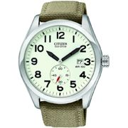 Mens Citizen Eco-drive Gents Strap Wr100 Stainless Steel Watch BV1080-18A