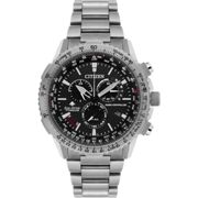 Mens Citizen Eco-drive Promaster Sky Radio Controlled Chronograph Titanium Watch
