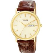 Mens Citizen Eco-drive Stainless Steel Watch BM8242-08P