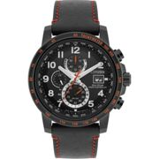 Mens Citizen Eco-drive World Chrono A.T Radio Controlled Chronograph Stainless Steel Watch