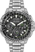 Mens Citizen Promaster Navihawk GPS Alarm Chronograph Radio Controlled Watch CC9030-51E
