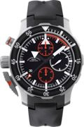 Mens Muhle Glashutte SAR Fleiger Automatic Chronograph Watch M1-41-33-KB