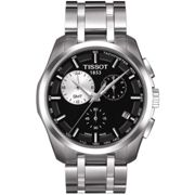 Mens Tissot Couturier GMT Chronograph Watch