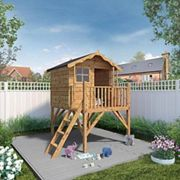 Mercia 7 x 5 ft Wooden Poppy Playhouse with Tower