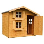 Mercia 7 X 5Ft Snowdrop Cottage Double Story Wooden Playhouse One Colour