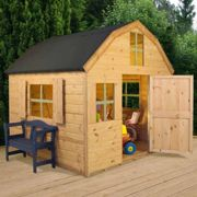 Mercia 6 X 6Ft Wooden Barn Style Playhouse One Colour