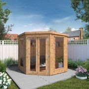 Mercia Premium Corner Summerhouse - 7' x 7'