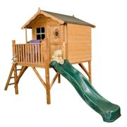 Mercia Tulip Tower Playhouse with Slide