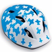MET Super Buddy Kids Cycling Helmet - White / Blue Airplanes / Unisize White/Blue Airplanes Unisize