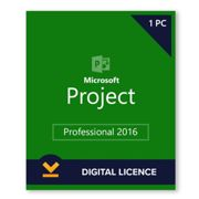 Microsoft Project 2016 Professional 1PC Full Version Product-Key Code Download Link