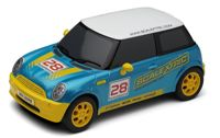 Mini Cooper Scalextric Branded Car