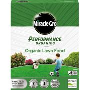 Miracle-Gro Performance Organics Lawn Food 100m - 2.7kg