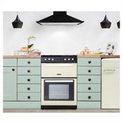 Montpellier RMC61GOC 60cm Gas Cooker in Cream Double Oven A Energy Rat
