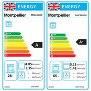 Montpellier RMC61GOX 60cm Gas Cooker in St St Double Oven A Energy Rat