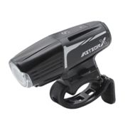 Moon Meteor Auto X Pro Rechargeable Front Bike Light - 2019 - Black / Front / Rechargeable Black