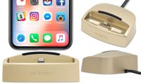 Mophie Charging Device: Two Desktop Charging Dock - Gold (87487547)