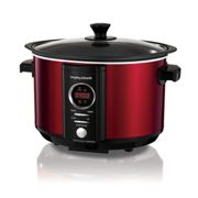 Morphy Richards Morphy Richards 3.5-Litre Digital Sear And Stew Slowcooker 460015 Red