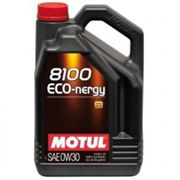 Motul 8100 Eco-Nergy 0W30 Synthetic Engine Oil - 5 Litres