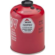 MSR 450g Isopro Canister Europe - Hiking gas stove - Red - size Unique Unique