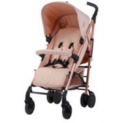 My Babiie MB51 Stroller Rose Gold and Blush