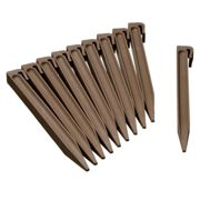 Nature Garden Anchor Pegs 10 pcs Taupe