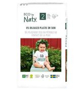 Naty Size 2, 33 Eco Nappies, 3-6kg