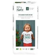 Naty Size 4, 44 Eco Nappies, 7-18kg