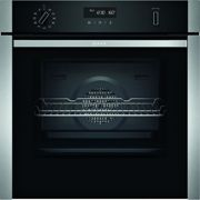 Neff B5ACH7AH0B N50 Slide & Hide Pyrolytic Single Oven - STAINLESS STEEL
