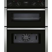 Neff N50 Electric Built Under Double Oven with Catalytic Cleaning - Stainless Steel