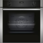 NEFF N50 Slide&Hide B3ACE4HN0B Built In Electric Single Oven - Stainless Steel - A Rated