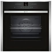 Neff B57CR22N0B Pyrolytic Slide and Hide Single Electric Oven, Stainless Steel