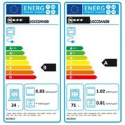 Neff U1GCC0AN0B Built-in Double Oven with CircoTherm-Stainless Steel