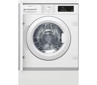 NEFF W543BX1GB Integrated 8 kg 1400 Spin Washing Machine - White, White