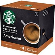 NESCAF Dolce Gusto Starbucks Coffee Americano House 12 Pieces of 8.5 g