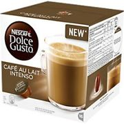 NESCAFÉ Dolce Gusto Cafe Au Lait Intenso Coffee Pods Pack of 16