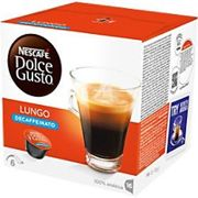 NESCAFÉ Dolce Gusto Lungo Decaffeinato Coffee Pods Pack of 16