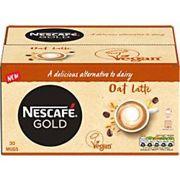 Nescafé GOLD Caffeinated Instant Coffee Oat Latte 16g Pack of 30