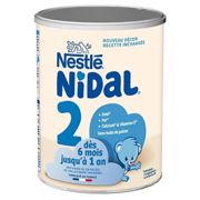 Nestlé Nidal milk powder 2nd Age 6-12 m 800g