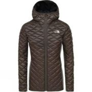 New Taupe Green The North Face L Women's Inlux Wool Hybrid Jacket