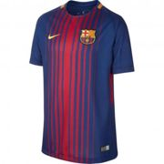 Nike Nike Jersey Home Football Barcelona Junior 17/18 DEEP ROYAL BLUE/UNIVERSITY GOLD M