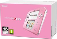 Nintendo 2DS Console, White/Pink, Boxed