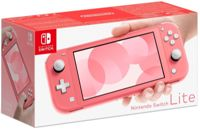 Nintendo Switch Lite Handheld Console - Coral